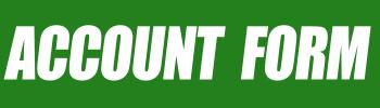 Account Form - Bem vindo